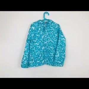 Columbia Girl Jacket Lightweight Blue Sz S